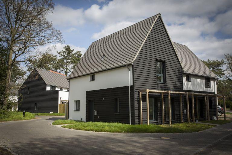new construction passivhaus in UK