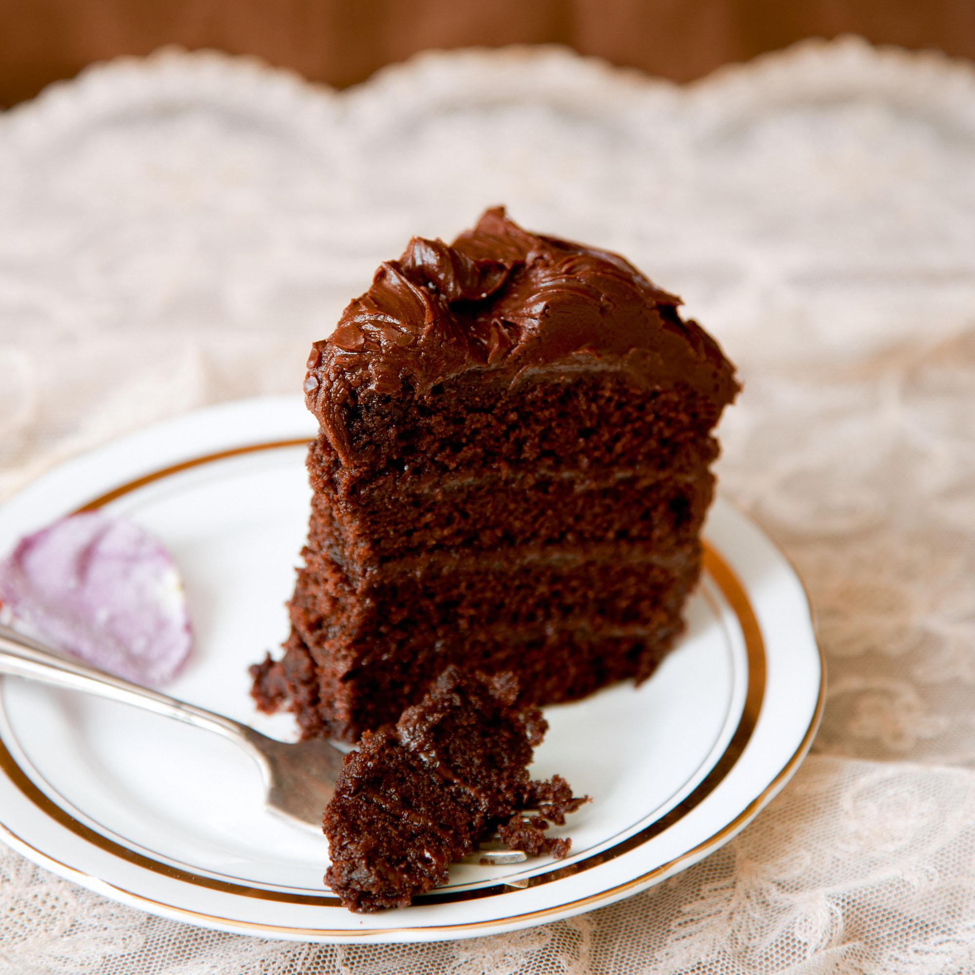 Chocolate Fudge Cake Dessert Recipes Woman Home