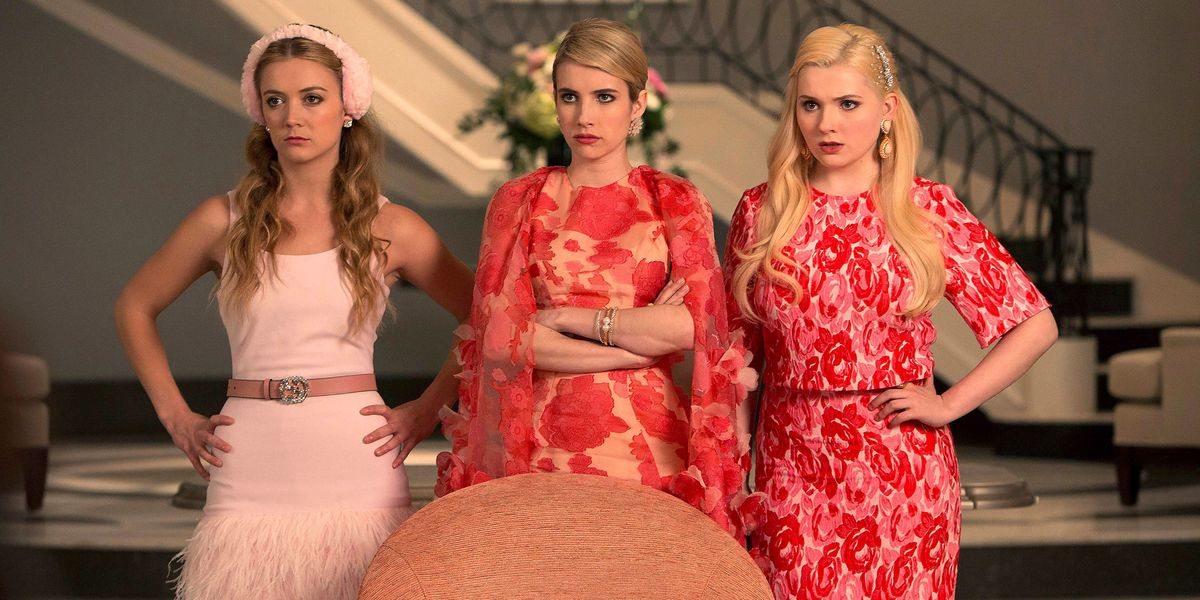 Some of the main cast of Scream Queens.