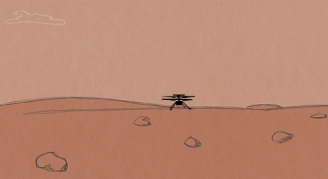 Teach your kids to code a Mars helicopter game with this NASA guide