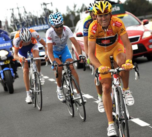 Alejandro Valverde, Vuelta a Espana 2009, stage 13