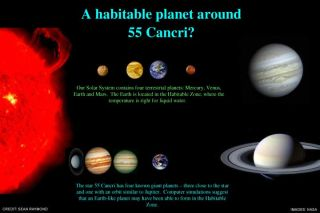Habitable Planet Possible Around Nearby Star System