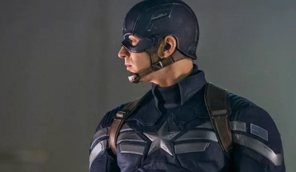 Captain America: The Winter Soldier Chris Evans Cap's stoic profile