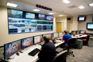 Christie MicroTiles Installed for Dallas Police Control Room
