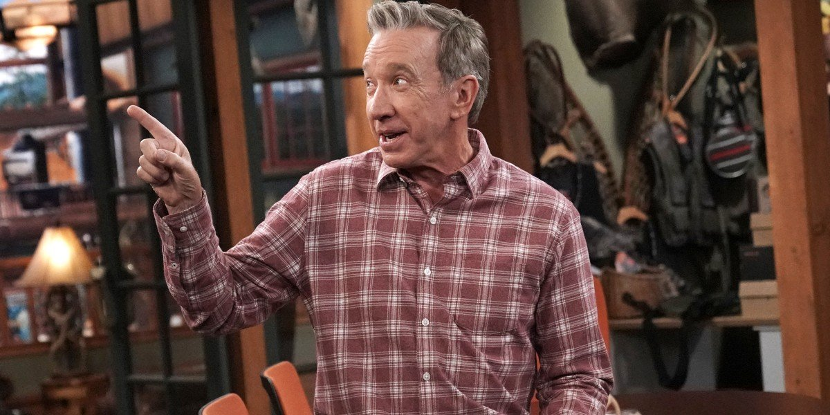 Mike Baxter pointing a finger Last Man Standing Fox