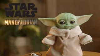 Animatronic Baby Yoda is here to win you over with wiggling ears and adorable babble