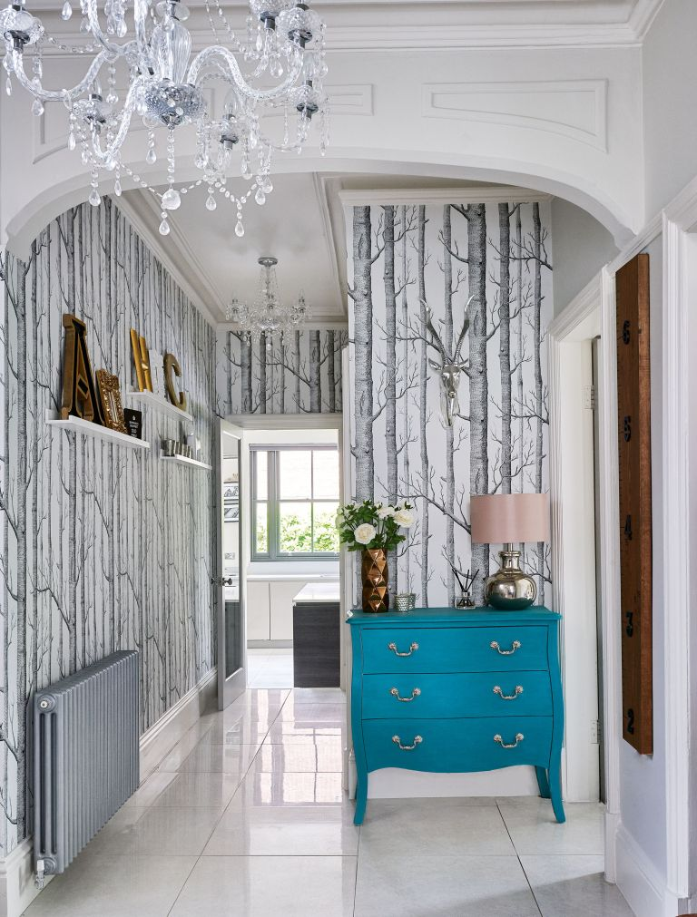 Hallway wallpaper: 10 stylish ideas to make an impact
