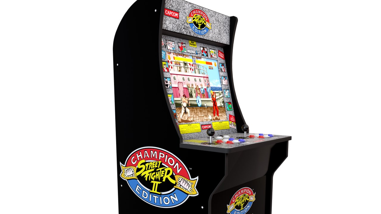 Get A Recreation Street Fighter 2 Arcade Cabinet For Under 200 At
