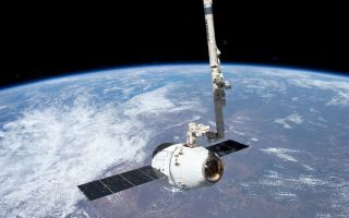 SpaceX Dragon Grappled at Space Station