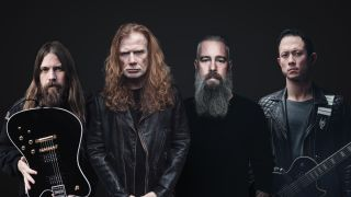 Dave Mustaine, Matt Heafy, Mark Morton and Bjorn Gelotte