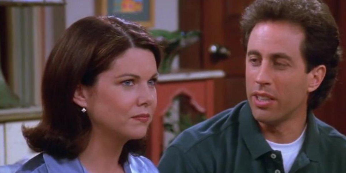 Lauren Graham and Jerry Seinfeld on Seinfeld