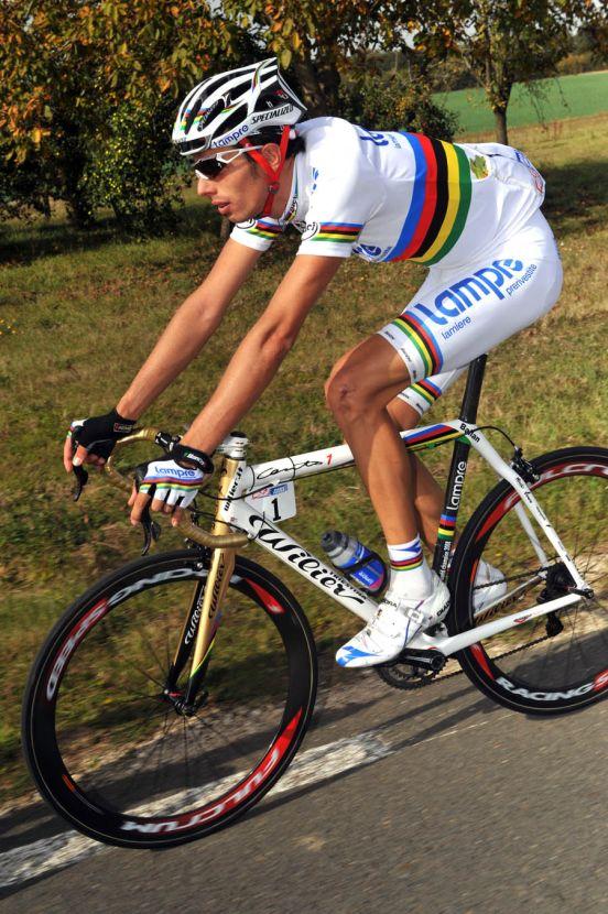 Alessandro Ballan Paris Tours 2008