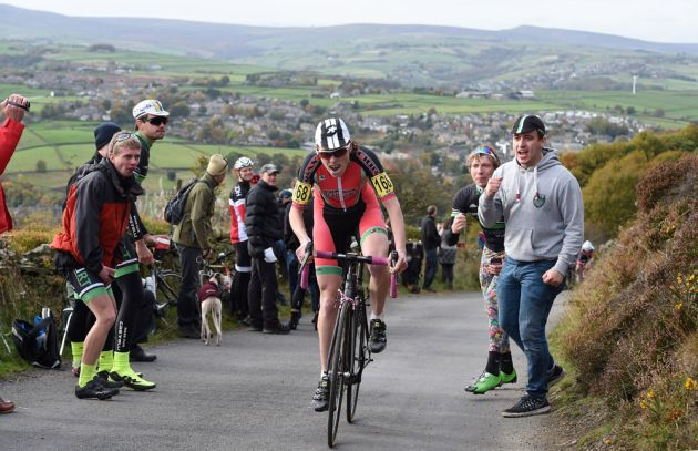 Becky Lewis, Hill-Climb National Championships 2015