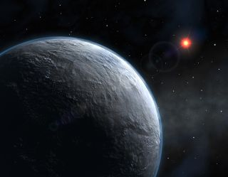 Artist's Rendering of Exoplanet