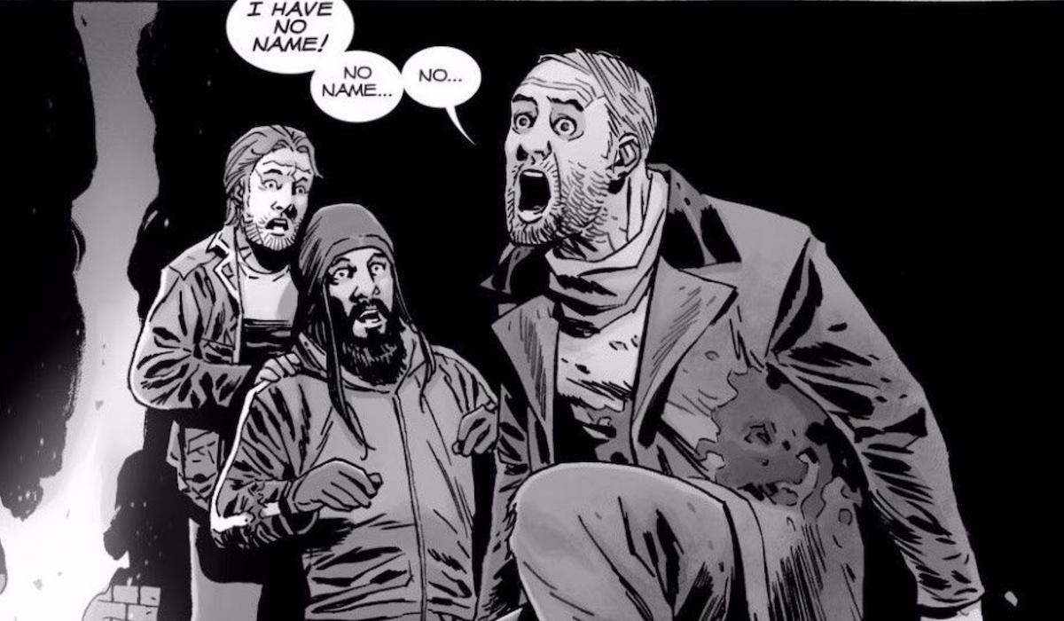 beta death in the walking dead comic