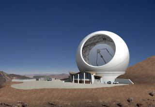 Located at 18,400 feet above sea level in Chile's Atacama Desert, the new CCAT observatory will detect radiation normally blocked to ground-based telescopes by water vapor in the atmosphere.