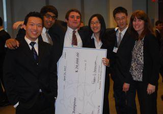 Moody's Mega Math (M3) Challenge champions
