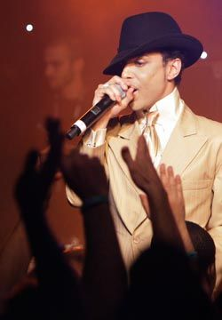 Prince Jazzes Up Montreux