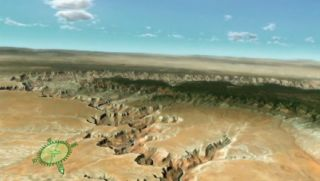 A virtual aerial tour of the Grand Canyon, from the National Park Service.