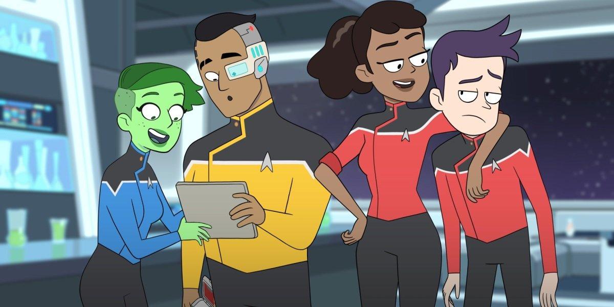 Star Trek: Lower Deck CBS All Access
