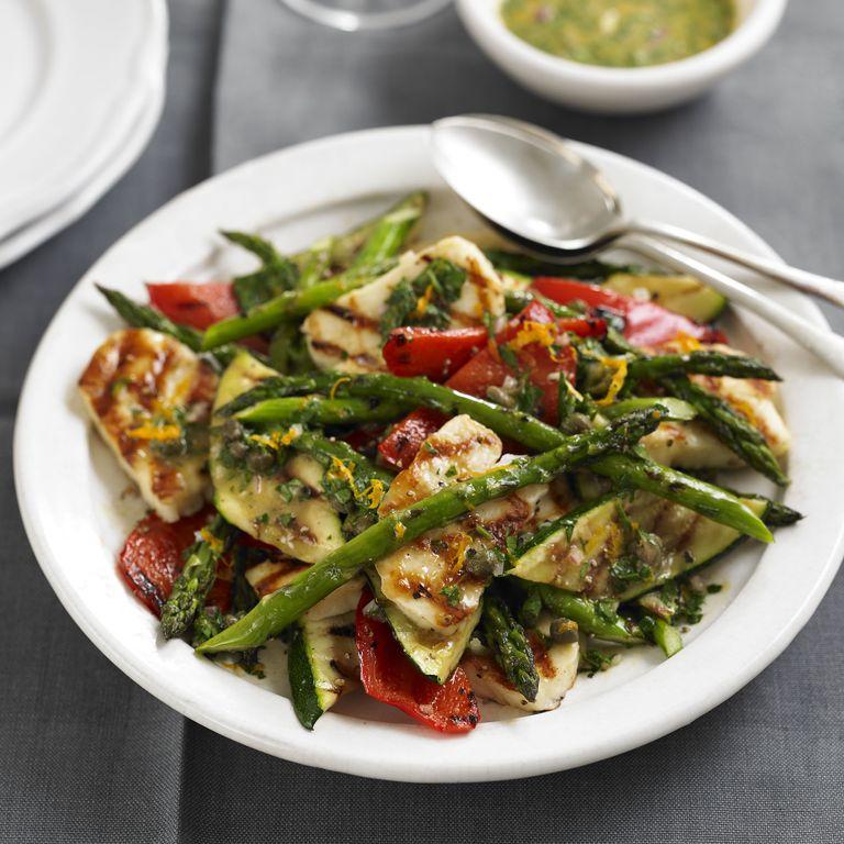 Halloumi Salad recipe-Halloumi recipes-recipe ideas-new recipes-woman and home