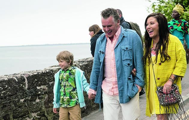 EastEnders characters Kat and Alfie Moon, a soap couple of some 16 years standing, show up in Ireland for their own six-part series on BBC1.