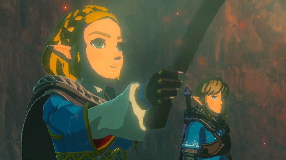 The Legend Of Zelda Breath Of The Wild Sequel Is In