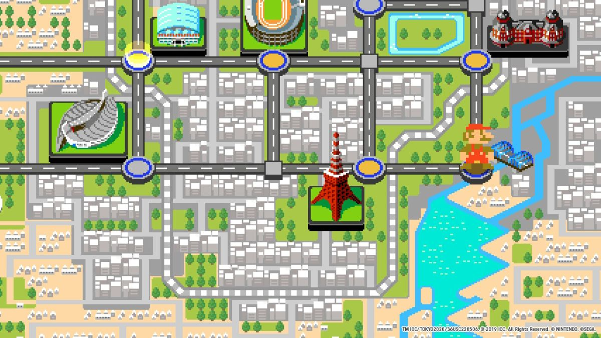 Mario And Sonic At The Olympic Games Tokyo 2020 Is A Simple But Fun Nostalgia Trip Tom S Guide