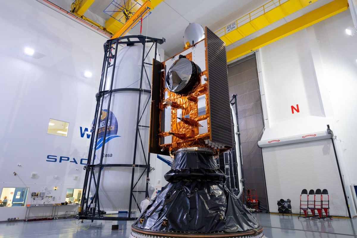SpaceX will launch the Sentinel-6 ocean-mapping satellite Saturday....