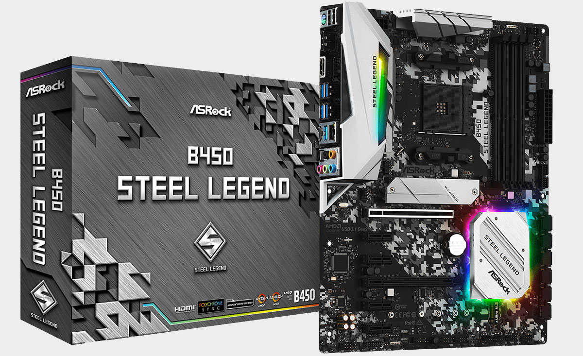 ASRock promises rock-solid stability from its new 'Steel Legend
