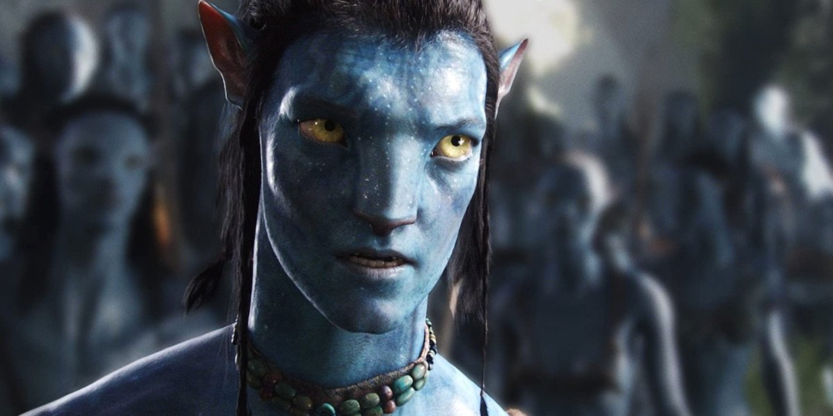 Jake in as a Na'vi in Avatar