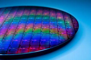 Intel 10nm Wafer