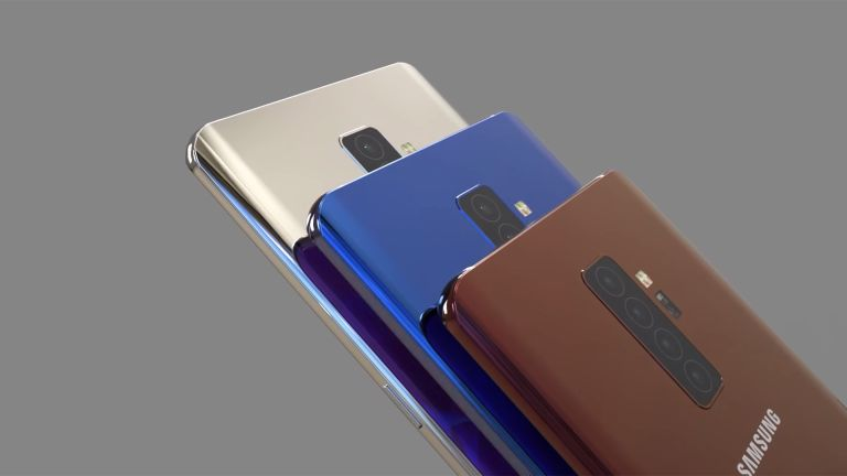 Samsung Galaxy S10+ concept