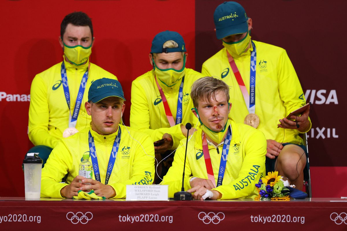 Olympics: Australia's team pursuit bronze feels like gold after early setback
