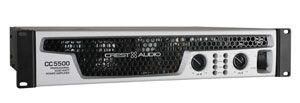 Crest Audio Offers New CC 5500 Power Amplifier