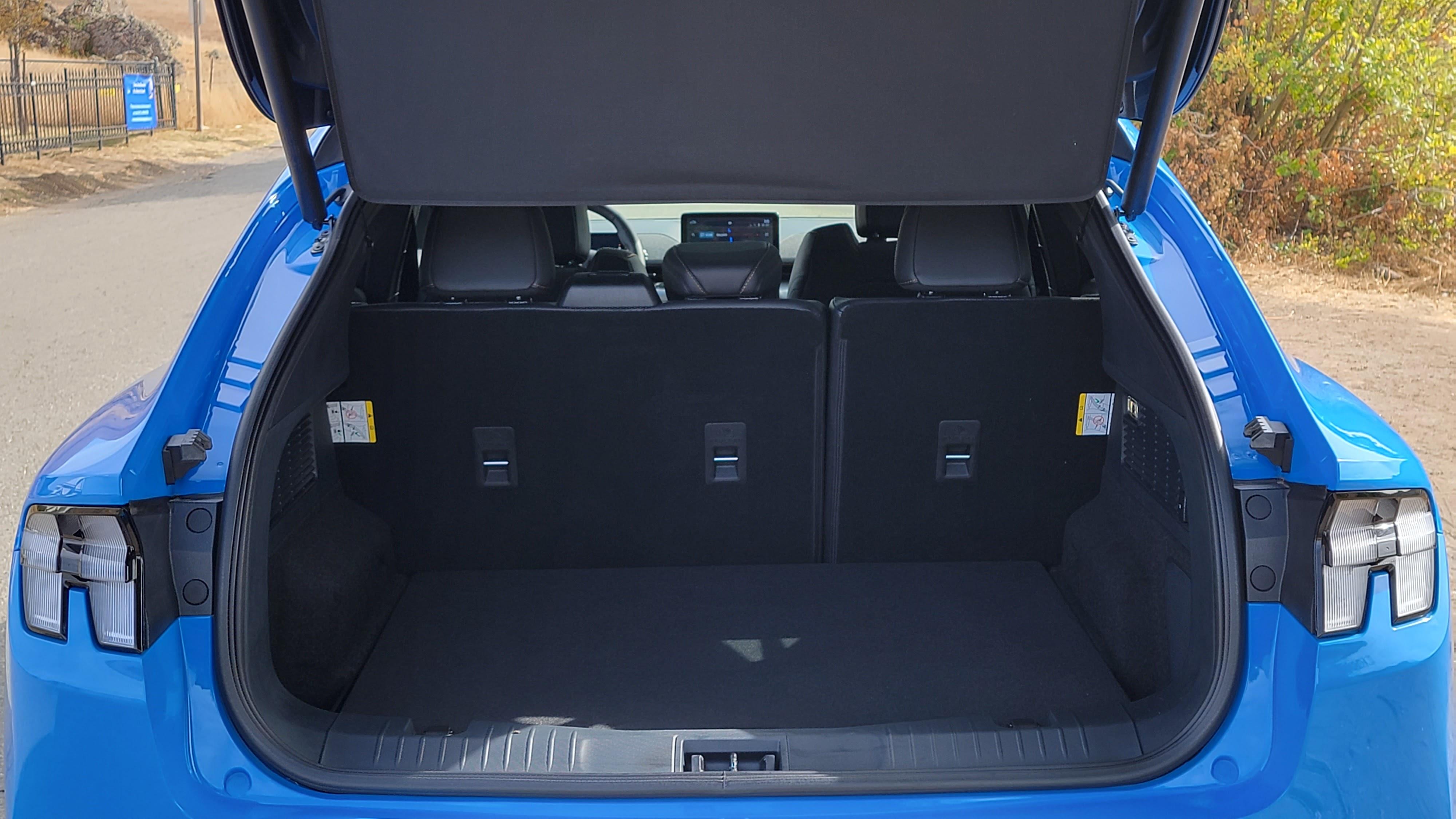 Mustang Mach-E GT interior boot