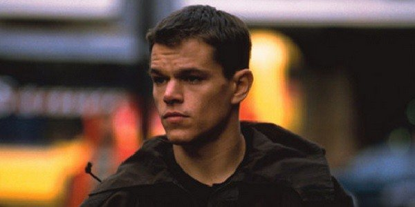 Matt Damon in his first appearance as Jason Bourne in The Bourne Identity