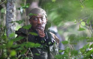 Final Recall Wesley Snipes as The Hunter