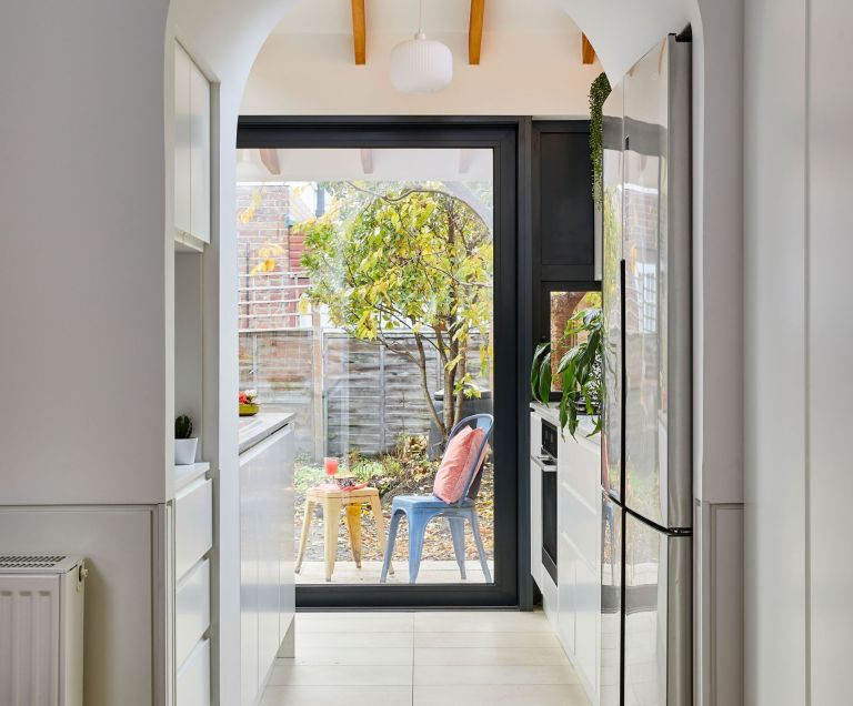 best fridge freezer - Portnoy Kitchen - Replacing a badly-built extension gave Ellie and Nick the chance to create a bespoke space for family and floppy-eared pets