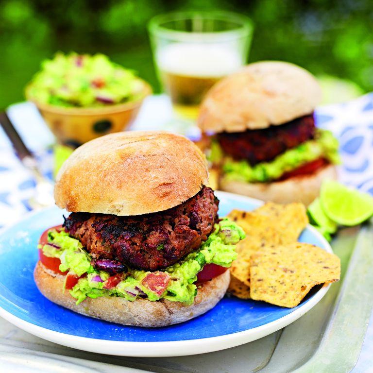 Chipotle Chilli Beef Burger