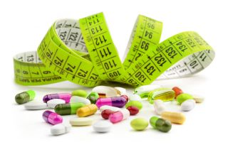 An image of weight loss supplements