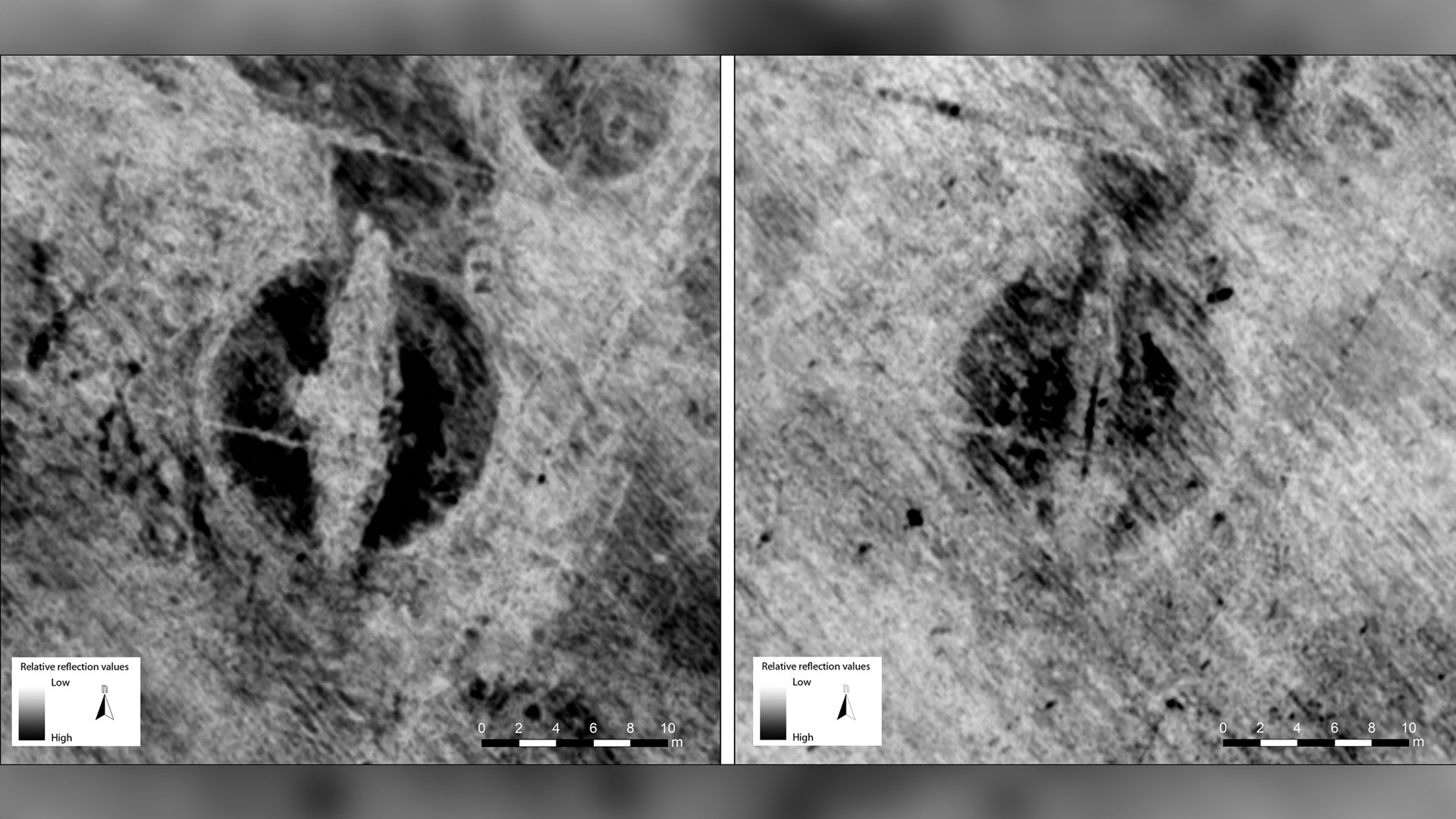 Viking ship in Norway buried near cult temple, feast hall and funeral mounds thumbnail
