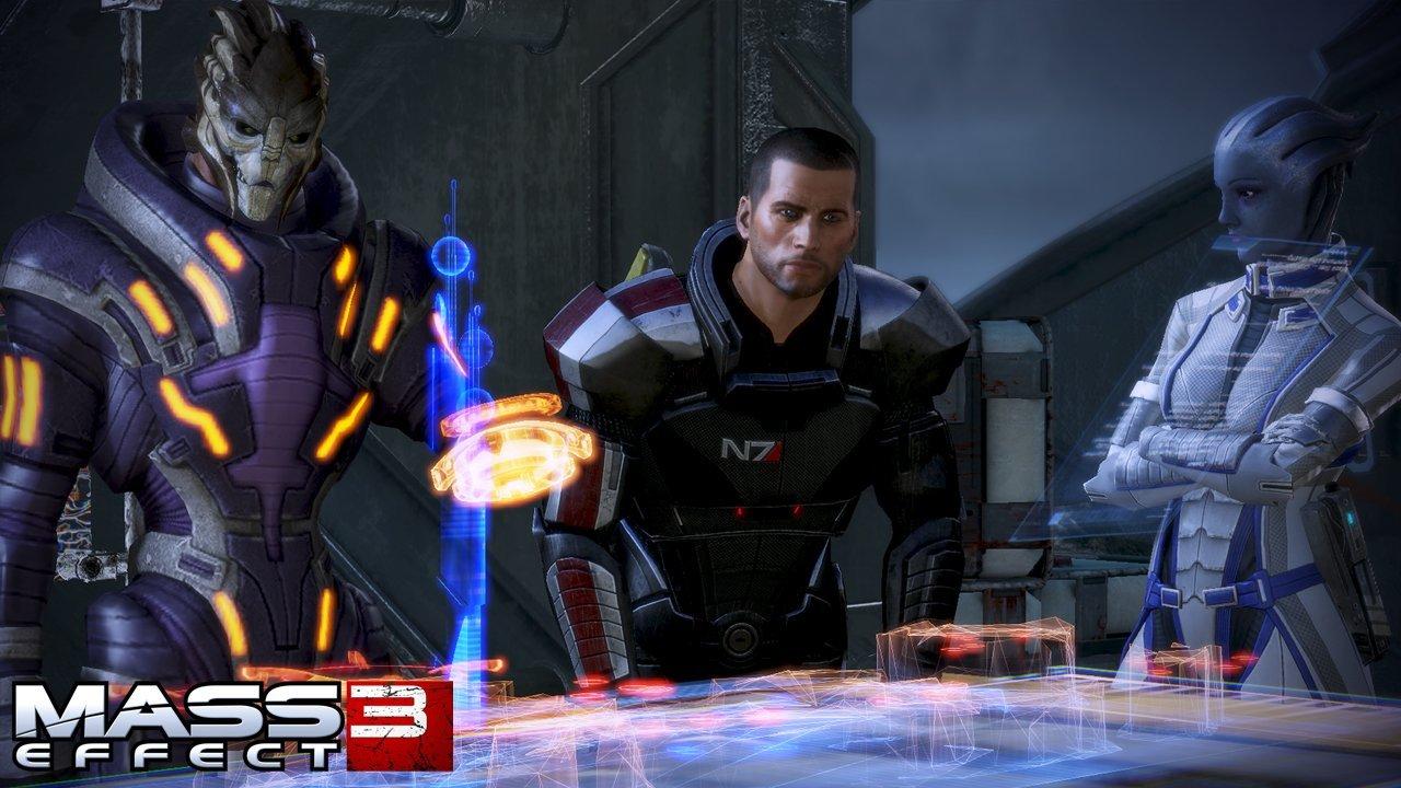 Mass Effect 3 Combat Rifle Screenshots #18864
