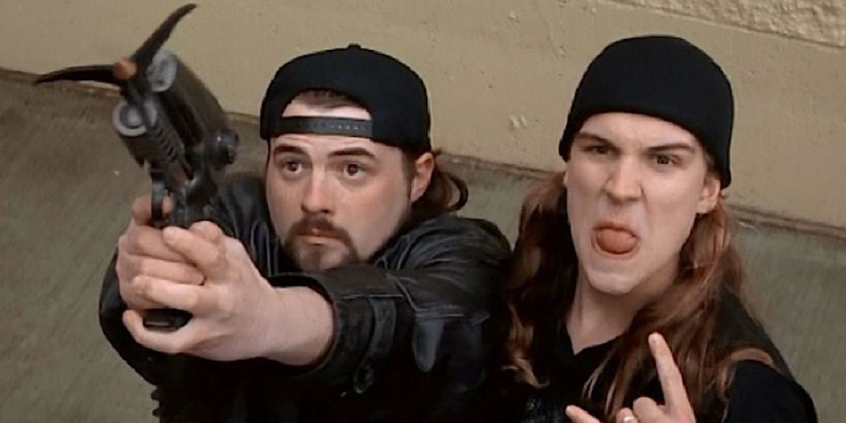 Jay and Silent Bob in Mallrats