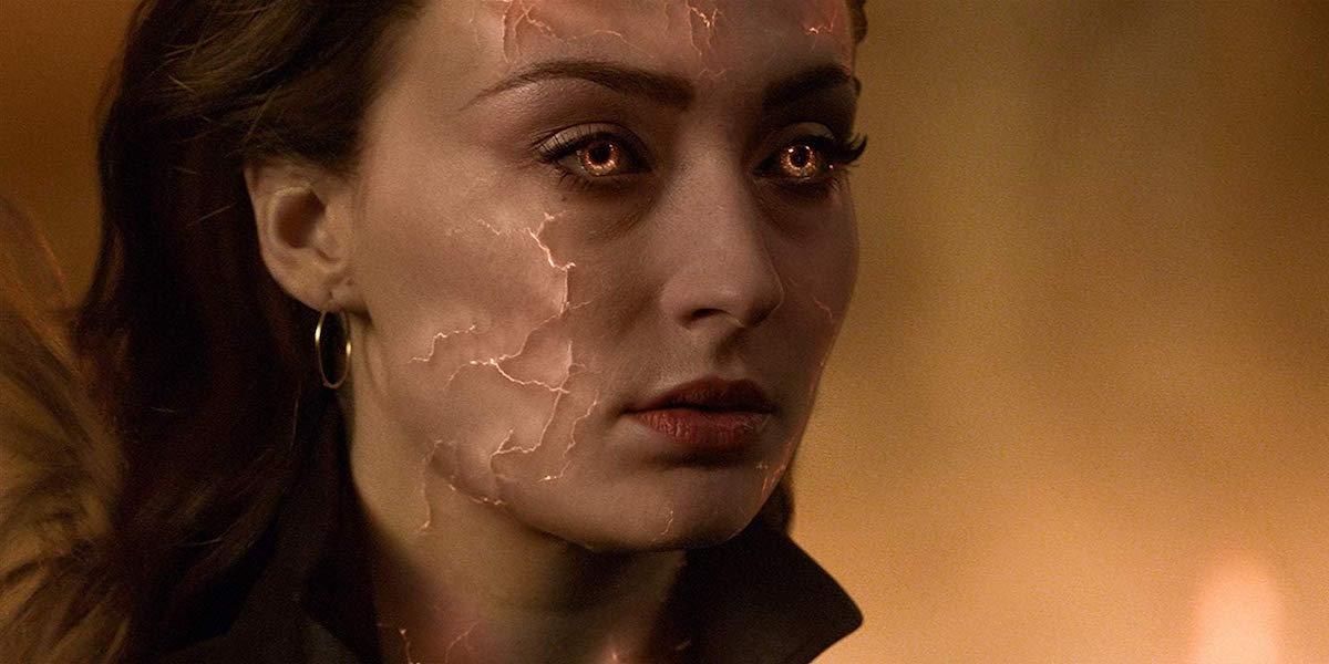 Sophie Turner as Jean Grey in Dark Phoenix