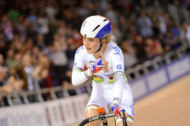 Laura Trott, Glasgow Track World Cup 2012, day two, part 2