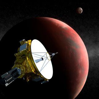 New Horizons at Pluto: Artist's Concept