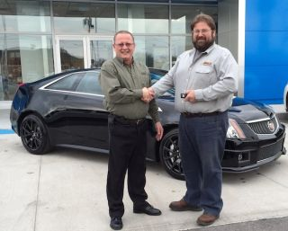 ADI Dealer Wins New Cadillac CTS-V
