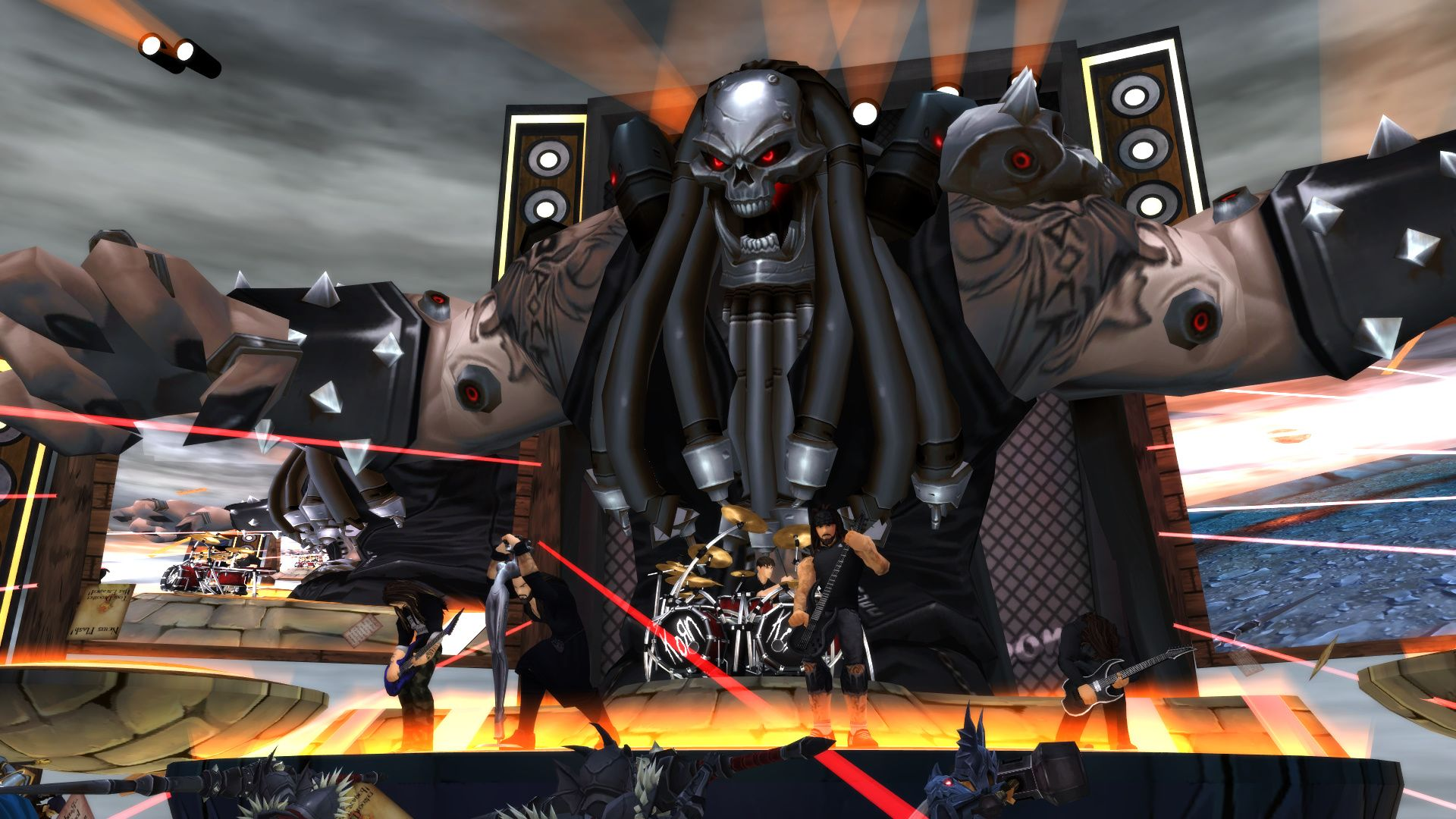 Korn is playing a live concert in AdventureQuest 3D later
