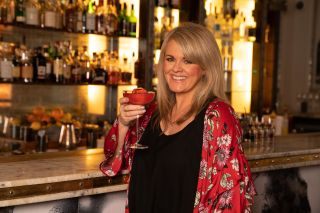 Sally Lindsay in her new C5 series Sally Lindsay's Posh Sleepover